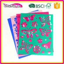 Eco-Friendly pp decorative stencil, pp custom stencil wholsale, pp custom stencil