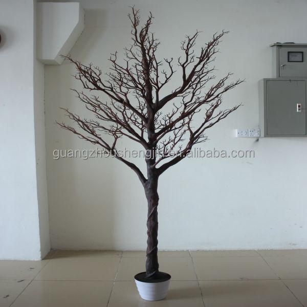q120814 knstliche trockene baum billig weier zweig baum china hersteller trockenen baum fr dekoration - Dekoration Baum