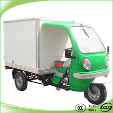 New style cargo tricycle with closed body