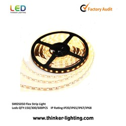 SMD5050 continuous led strip 60lEDS/white with 3 years warranty