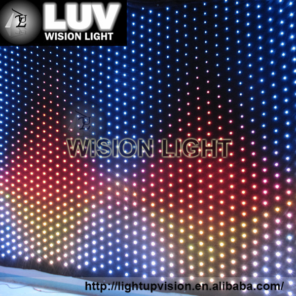 Led Video Curtain Tube Rgb Led Display Curtain - Buy Led Video Curtain ...