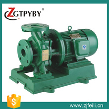 China famous water treatment pipeline pump