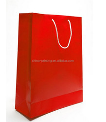 Good quality gift bag ,kraft paper shopping bag with logo printing