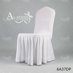 New spandex chair cover Hot sale cheap Wrinkle chiar covers, elastic chair cover for wedding and banquet