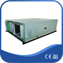 Touch screen panel energy saving ceiling mounted heat recovery ventilator