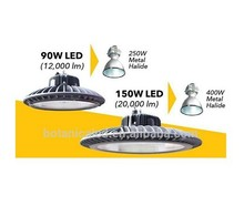 Led alibaba express MeanWell HBG Driver 120lm/w 150w led high bay light luminaria led lamp