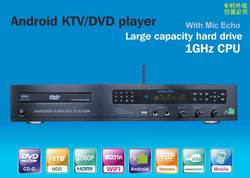All-in-one Android DVD/KTV/HDD karaoke player with HDMI 1080P ,Support MKV/VOB/DAT/AVI/MPG songs Support large capacity hard dri