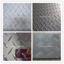 A3003 H16 Aluminum checkered/diamond plate in 5 bar supplier