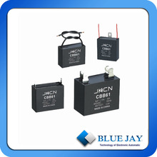 CBB61 Series Fan Capacitor 1.5uf 250VAC With CE