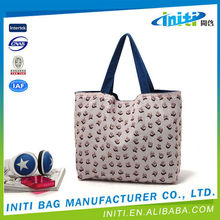 Promotional top quality fancy canvas bag