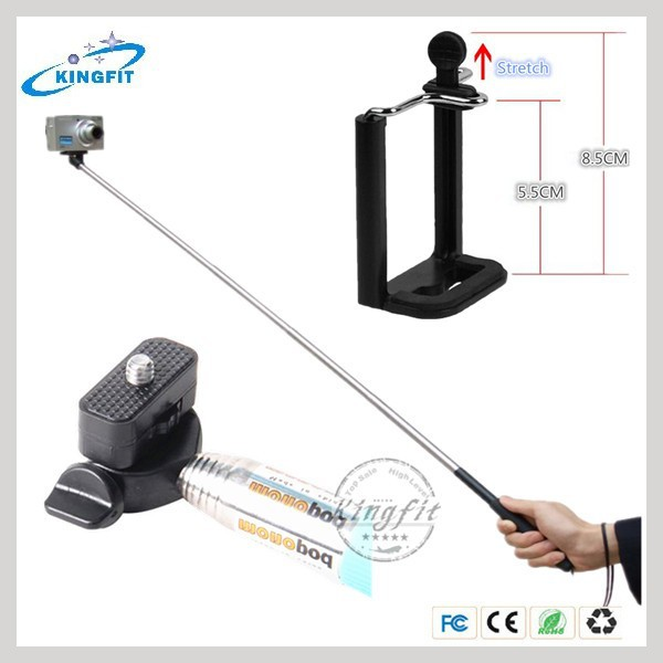 china wholesale handheld selfie stick monopod z07 1 for iphone for cellphone buy wholesale. Black Bedroom Furniture Sets. Home Design Ideas