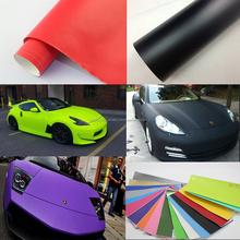 Película de la burbuja del coche para envolver 1.52*30m auto-adhesivo de vinilo coche plástico mate