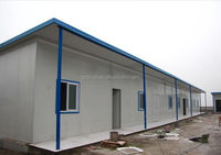 China Low Cost Sandwich Panel Cheap Prefabricated house