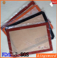 Kitchen Silicone Heat-resistant Mats Baking Mat custom silicone baking mat
