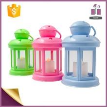 Promotion Plastic candle lantern,LED candle lamp,Hurricane lantern