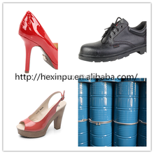 lady shoes polyurethane resin /PU Resin /PU FOAM For Shoe leater synthetic leather