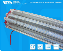 aluminum case DC24V SMD2835 LED strip curtain for light box