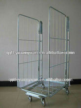 2 sides reinforced and folding iron cages
