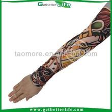 Getbetterlife2015ปลอมแขนรอยสักการออกแบบแขนผ้า/ไนลอนสักแขนสำหรับผู้หญิง