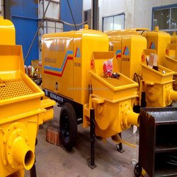 stationary pumping concrete machine with advanced configuration and reasonable price China supplier