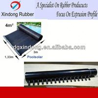 Synthetic Rubber Water Flat Panel Solar For Swimming Pool