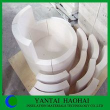 JN series calcium silicate pipe cover fire protection high density best choice from Haohai
