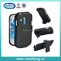 fashion 2 in 1 belt clip case for Samsung galaxy S3 mini with kickstand