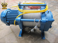 3Ton 380v CE Approved Used Electric Wire Rope Hoist Winch
