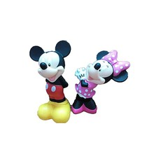 plastic cute christmas mouse toys