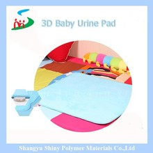 absolutely healthy and comfortable sleeping baby under pad urine pad