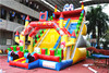 2015 new design commercial inflatable slide fairy slide for adult for sale