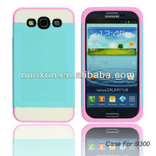 PC+TPU 3in1 Samsung Galaxy S3/ I9300 mobile phone case