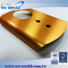 Anodized aluminum customize mobile phone cover