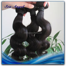 6A Quality Natural Color Body Wave Human Hair Beyonce Weaving