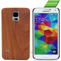 For Samsung Galaxy S5 Real Wood Phone Case
