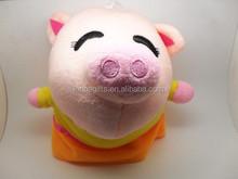 Cartoon Pink Pig With Skirt