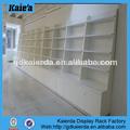 Bastidores de madera libro/diseño de madera estante de libro/montado en la pared estante para libros