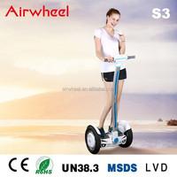 Airwheel S3 motorized skateboard 1000w with CE,RoHS,MSDS certificate SONY battery in changzhou