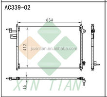 FOR D 4R3Z19712AA AC CONDENSER factory