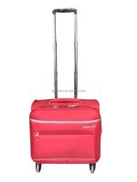nylon red flight bag