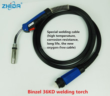 Standard CO2 welding torch 36KD with comfortable handle