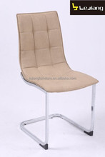 luxury modern leather comfortable dining chair home furniture