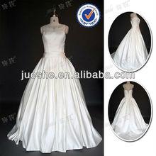 Hotsale High Quality Satin A-line Wedding Dress China 2012