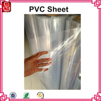 transparent pvc rigid sheet super clear transparent soft pvc thin plastic sheet