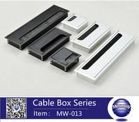 computer desk cable hole cap zinc alloy wire cover wire cable grommet box