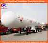Tri-axle LPG gas tanker trailer 3 axle LPG gas tanker trailer 40000L 58600L LPG gas tanker semi trailer