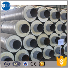 Thermal heating insulation pipe with iron sleeve for city centralizing heat supply
