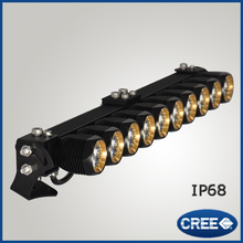 New design IP68 DIY high power super brightness spot beam led light bar for motorcycle