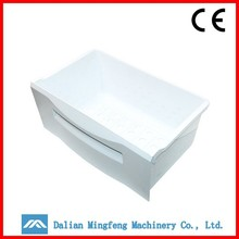 OEM white 5-tier cabinet plastic storage fridge drawer