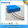 High quality rechargeable 18650 12v 40ah li-ion battery for led lights
